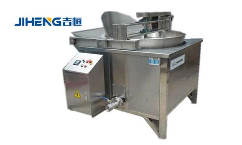 炸薯条土豆片生产线基本都需要哪些油炸设备